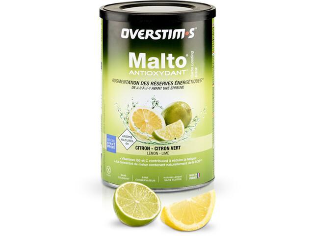OVERSTIM.s Antioxidant Malto Boisson 500g, Lemon Lime